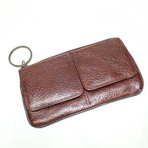 Banana Republic Leather Flap Wallet Clutch